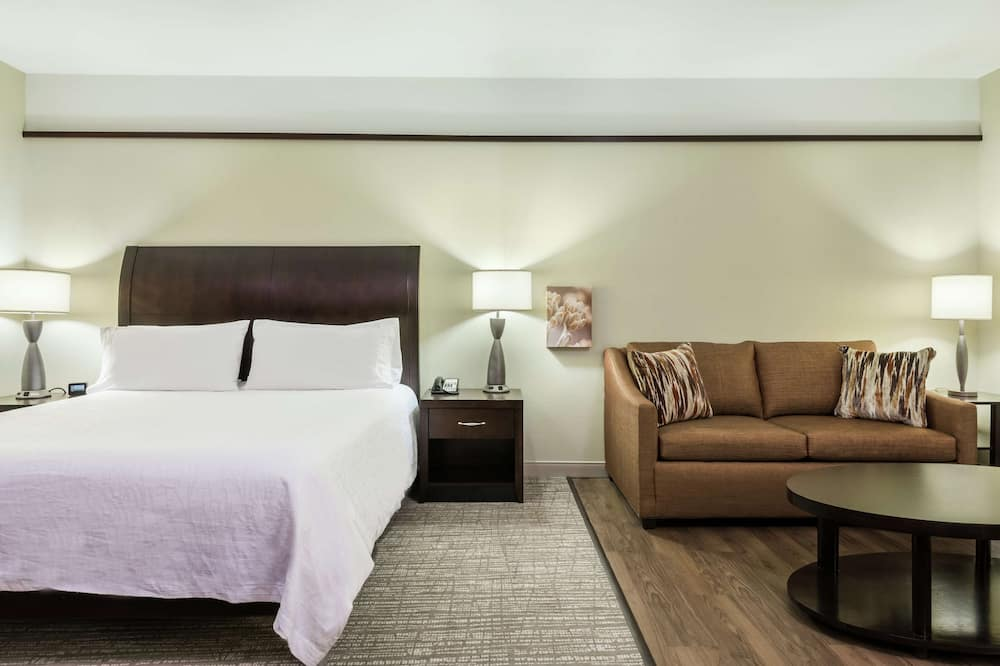Room, 1 King Bed, Accessible - Living Area