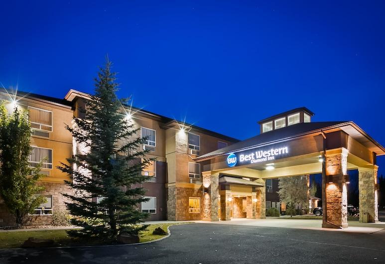 Best Western Diamond Inn, ทรีฮิลส์, ด้านหน้าของโรงแรม