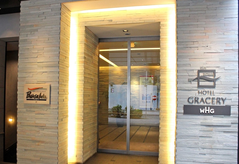 Hotel Gracery Ginza, Tokyo, Hotel Entrance