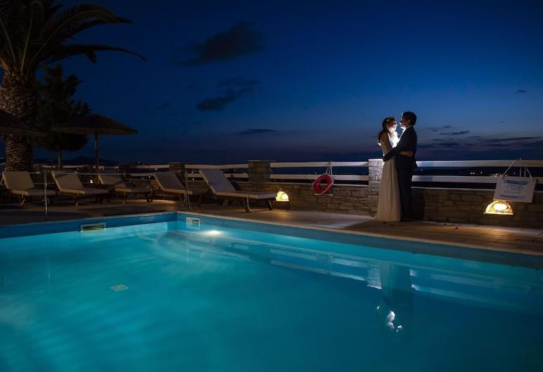 Pyrgaki Hotel, Paros, Pool