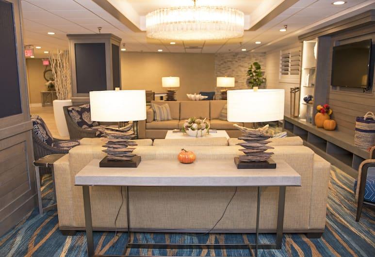 Nautilus Inn, Daytona Beach, Lobby Sitting Area