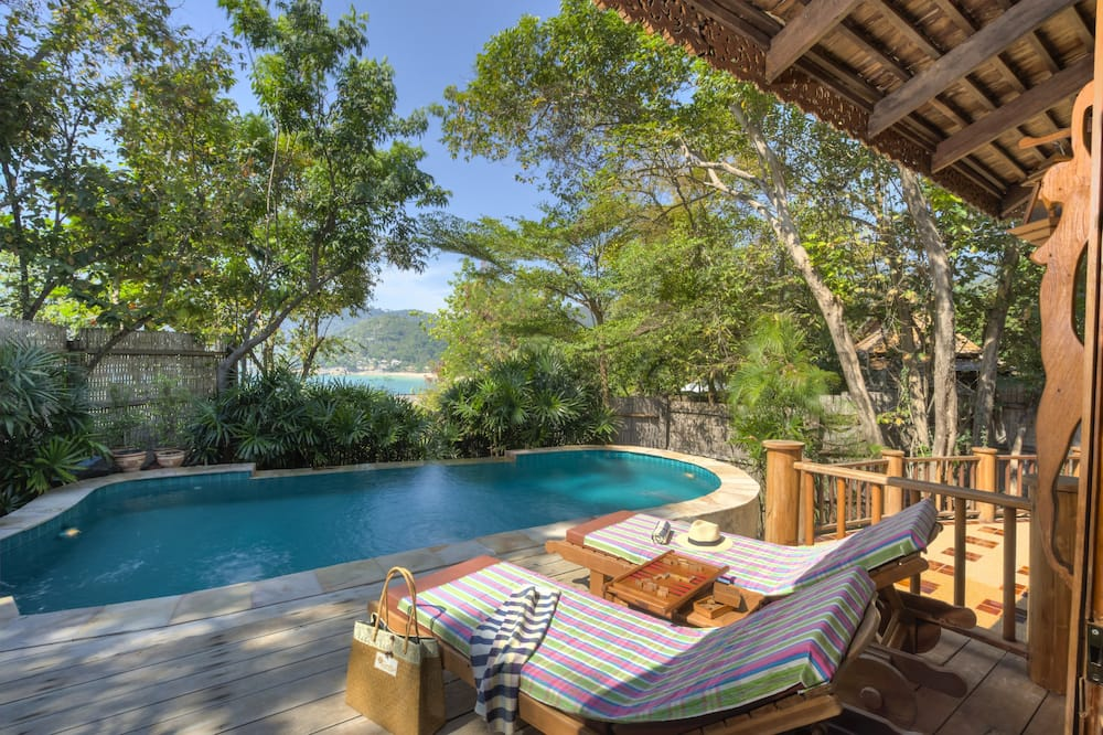Sea View Pool Villa - Utendørsbasseng