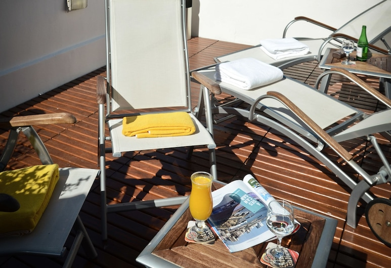 Hotel Presidente, Mar del Plata, Terraza