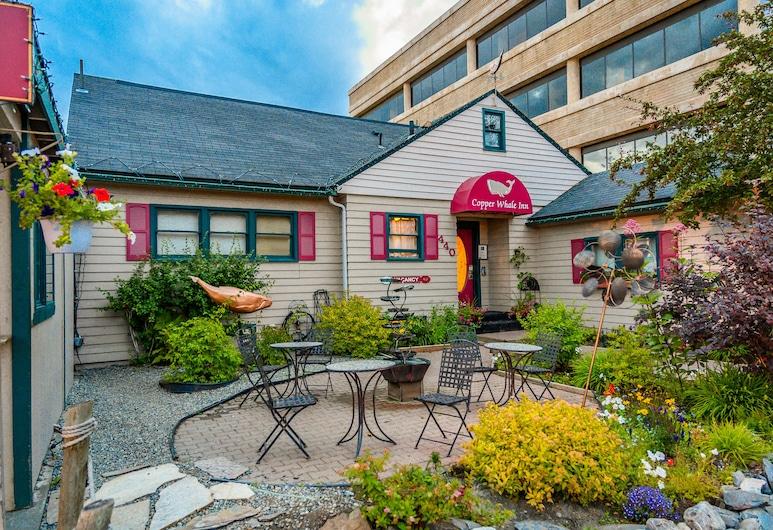 Copper Whale Inn, Anchorage, Taras/patio
