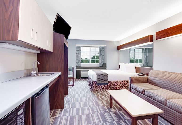 Microtel Inn and Suites by Wyndham Columbus North, Columbus, Studio Suite, 1 Queen Bed, Non Smoking, Guest Room