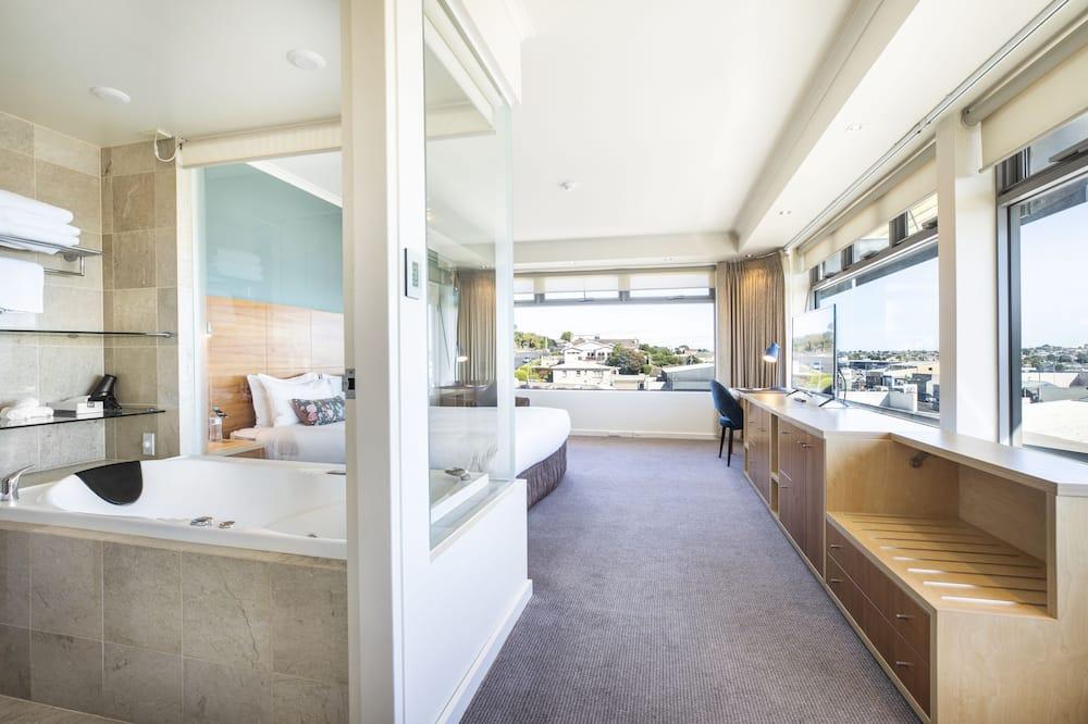 Habitación Premium, 1 cama King size, bañera de hidromasaje - Vista de la habitación