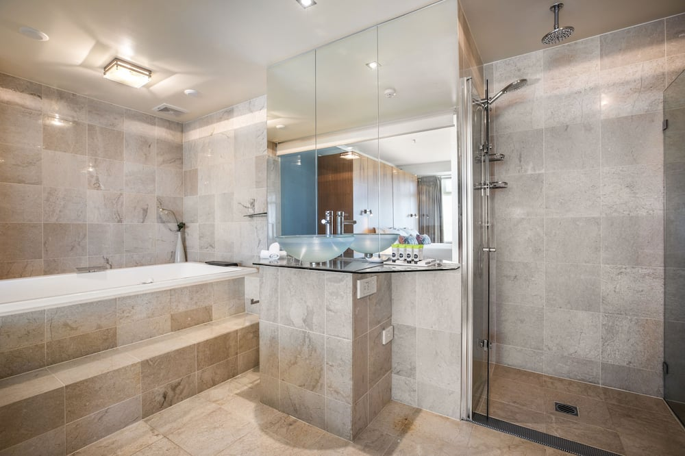 Habitación Premium, 1 cama King size, bañera de hidromasaje - Baño