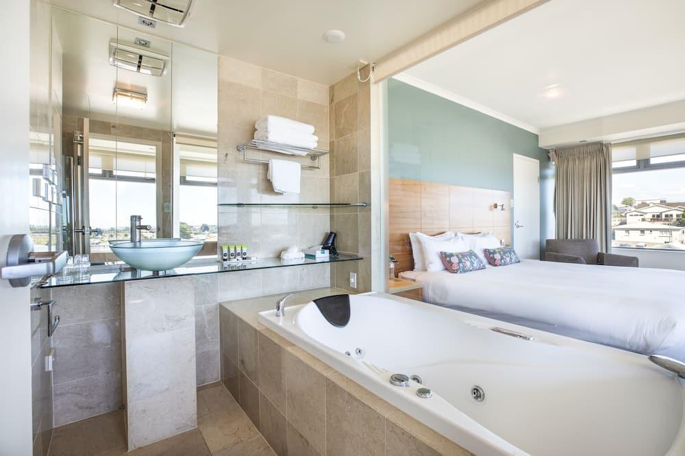 Habitación Deluxe, 1 cama King size, bañera de hidromasaje - Baño