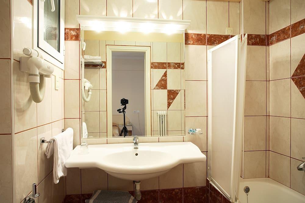 Habitación individual - Lavabo en el baño