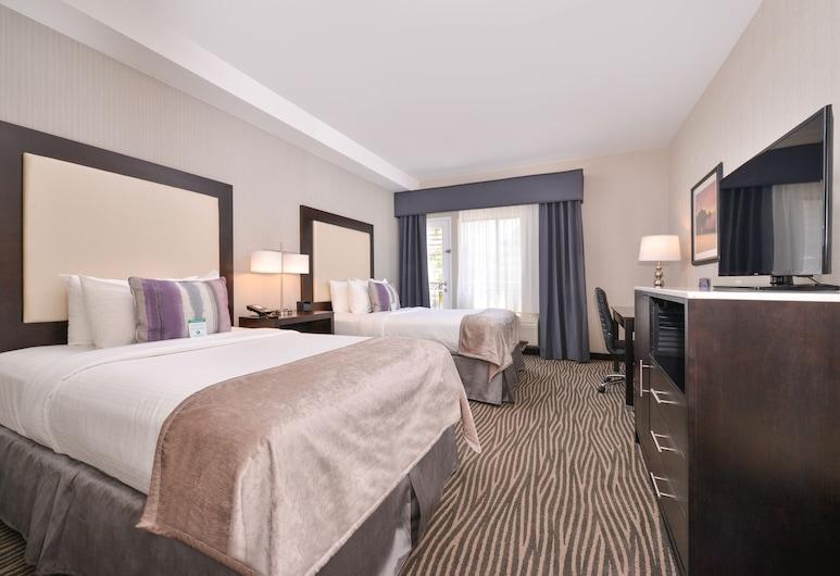 Best Western Plus Hotel At The Convention Center, Long Beach, Štandardná izba, 2 dvojlôžka, nefajčiarska izba, balkón, Hosťovská izba