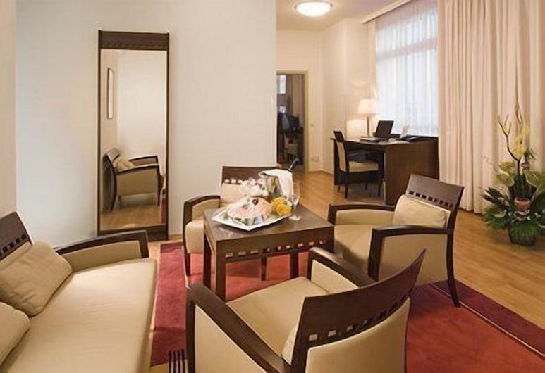 Clarion Hotel Prague Old Town, Praga, Suíte, 1 cama de casal, Área de estar
