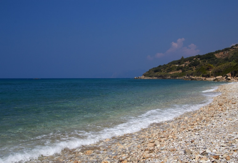 Andromaches Holiday Apartments, Corfu, Beach