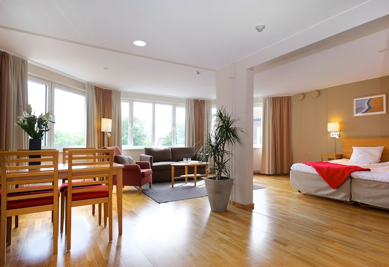 Hotel Tornet, Χέλσινγκμποργκ, Σουίτα, Περιοχή καθιστικού
