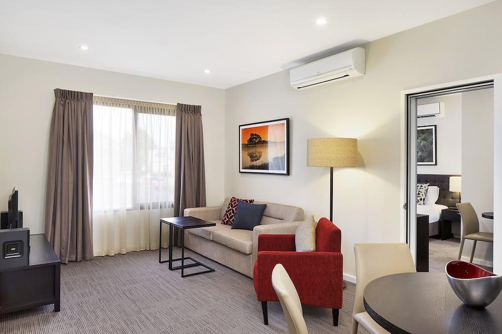 Appartement Exécutif, 2 chambres, non-fumeurs, cuisine - Salle de séjour