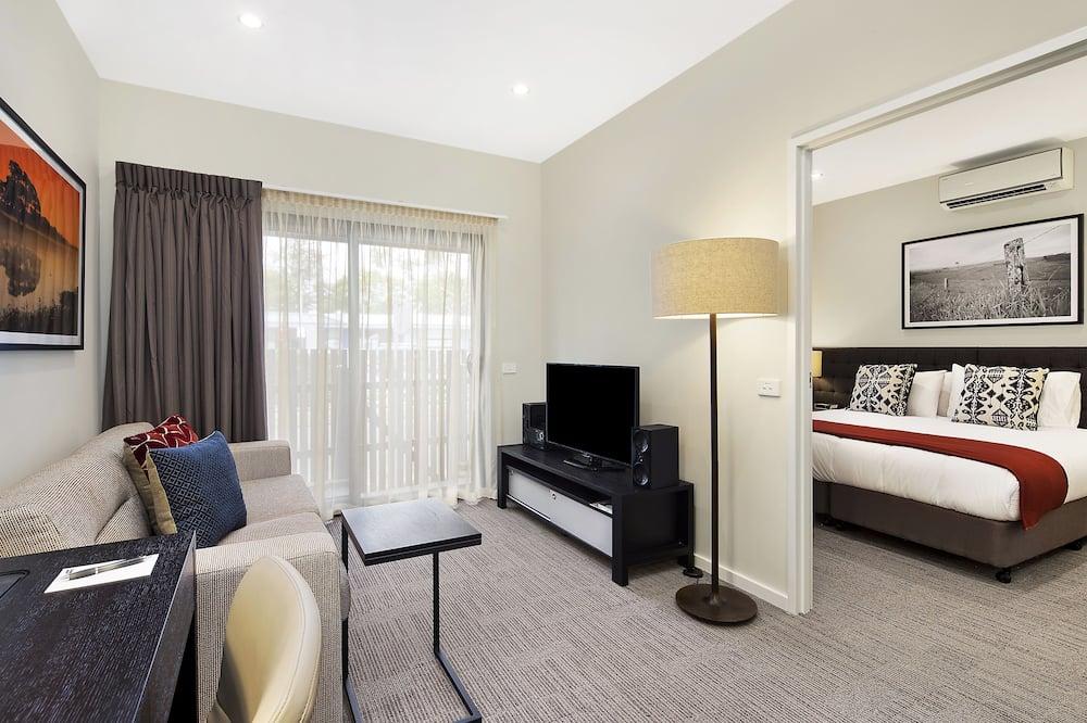 Appartement Standard, 1 chambre, non-fumeurs, cuisine (Apartment) - Salle de séjour