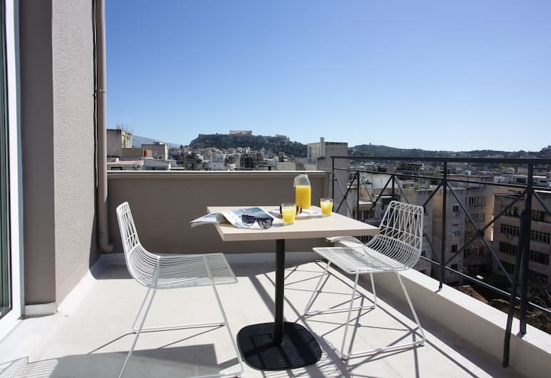 Evripides Hotel, Athens, Double or Twin Room (Acropolis View), Guest Room
