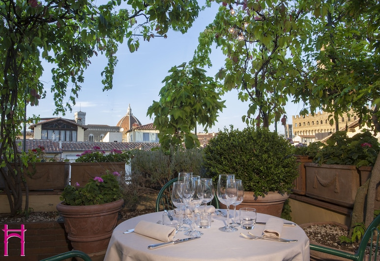 Hotel Hermitage, Florence, Terrace/Patio