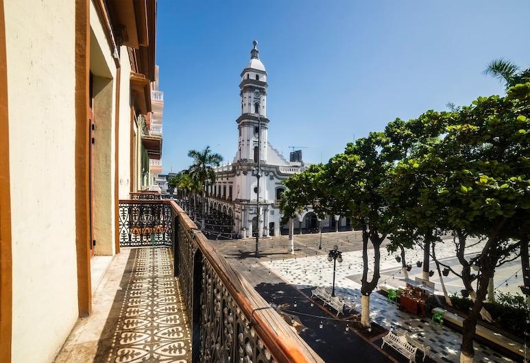 Collection O Hotel Imperial, Veracruz, Balcón