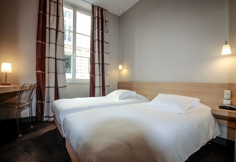 Hotel Gambetta, Bordeaux, Chambre avec lits jumeaux, Chambre