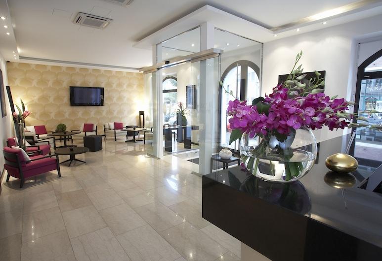 Design Merrion Hotel, Praha, Vidinis įėjimas