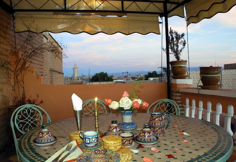 Riad Dalia, Marrakech, Utendørsservering
