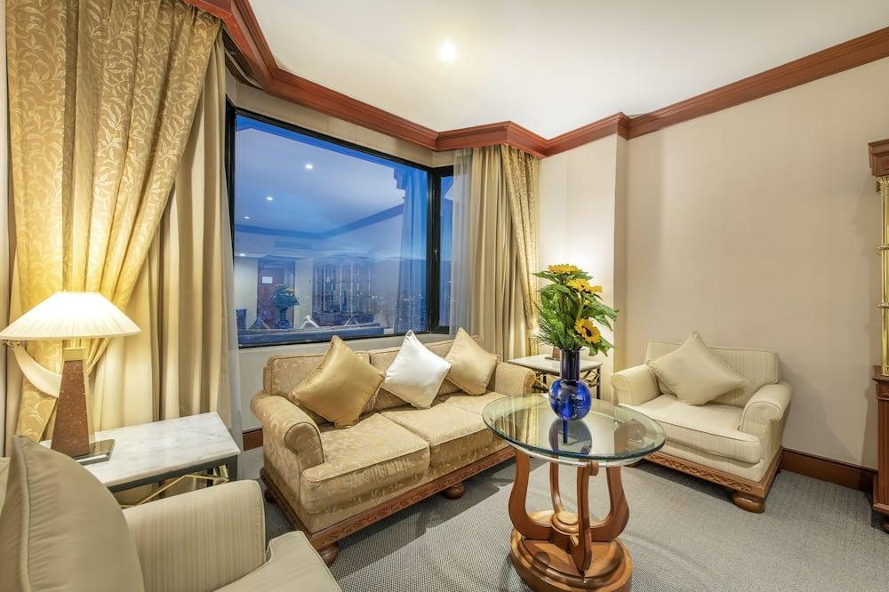 Executive-suite - 1 soveværelse - Opholdsområde