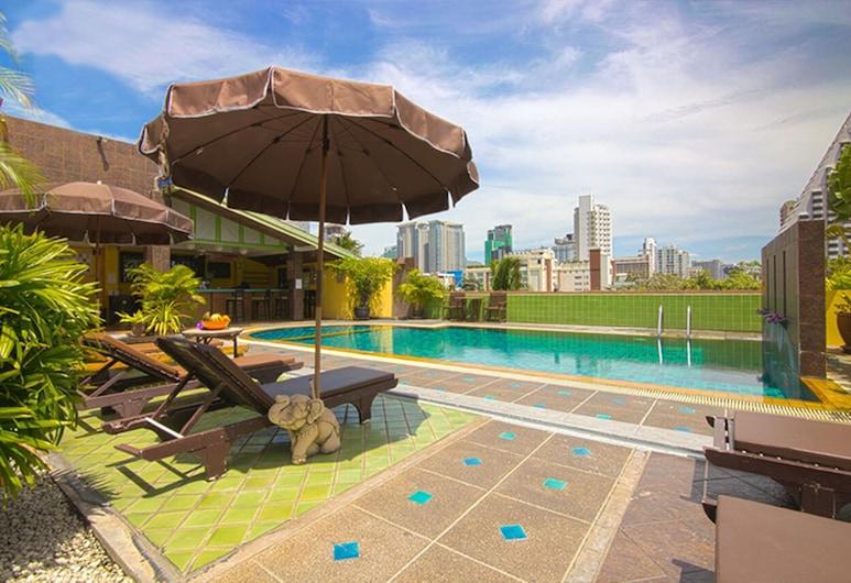 ウォラブリ スクンビット ホテル & リゾート, バンコク, プールの滝
