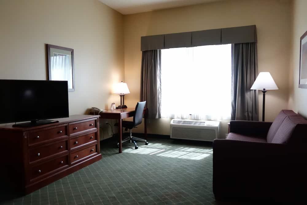 Suite, 1 cama King size con sofá cama, para no fumadores - Sala de estar