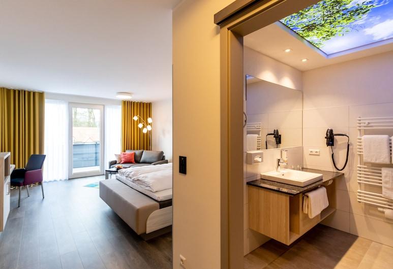 Hotel Leugermann, Ibbenbueren, Premium Double Room, Living Area