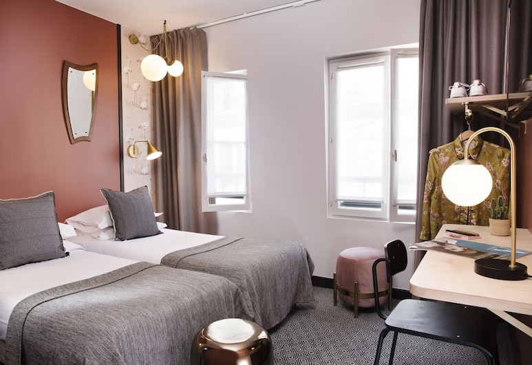 Hotel Paris La Fayette, Paris, Standard Twin Room, Guest Room