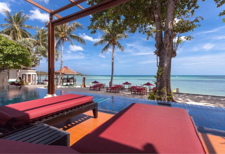 布日紮海灘度假村, 蘇梅島, Ocean Front Villa with Private Pool, 客房景觀