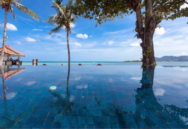 The Briza Beach Resort, Samui, Koh Samui, Ocean Front Villa with Private Pool, Guest Room View