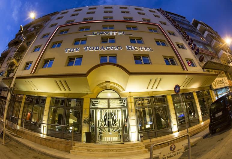 Davitel Tobacco Hotel, Θεσσαλονίκη, Πρόσοψη ξενοδοχείου