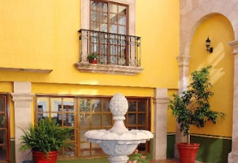 Hotel La Finca del Minero, Zacatecas, Dvůr