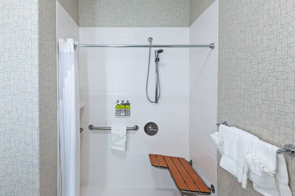Standarta numurs, 1 divguļamā karaļa gulta (Roll-In Shower) - Vannasistaba