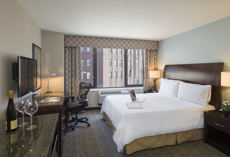 Hilton Garden Inn Tribeca, New York, Room, 1 King Bed, View, Guest Room View