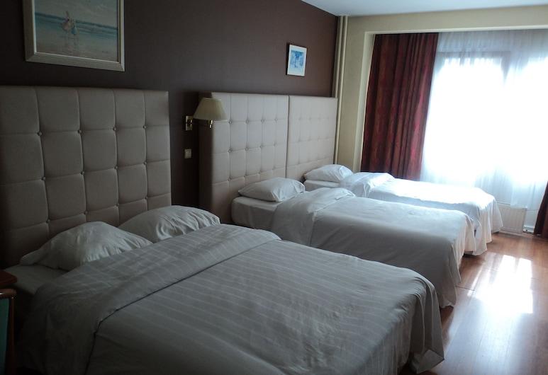 Hotel Albert, Brussel, Herbergi fyrir fjóra, Herbergi
