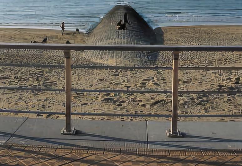 Hotel Pacific, Ostenda, Plaża
