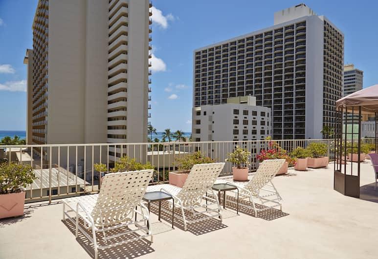 Ewa Hotel Waikiki, Honolulu, Teras/Patio