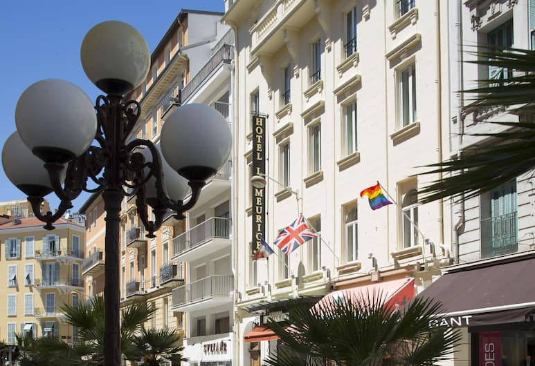 Le Meurice, Nizza, Blick vom Hotel