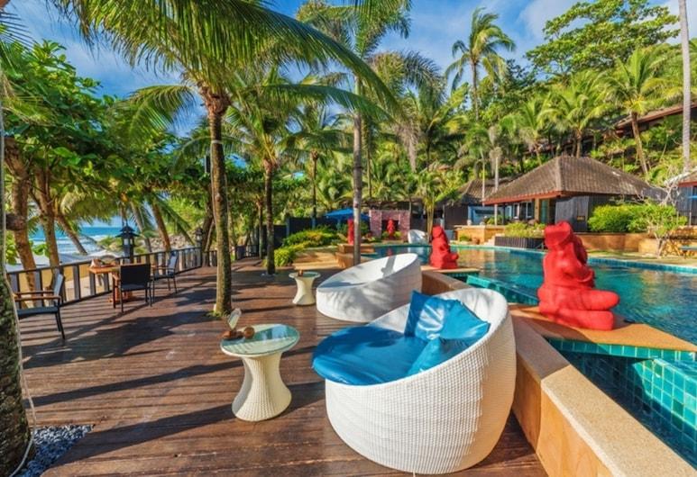 안다만(Andaman) 화이트 비치 리조트, Sa Khu, 야외 수영장