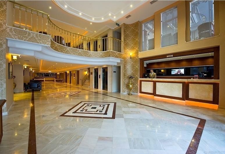 Askoc Hotel, Istanbul, Reception