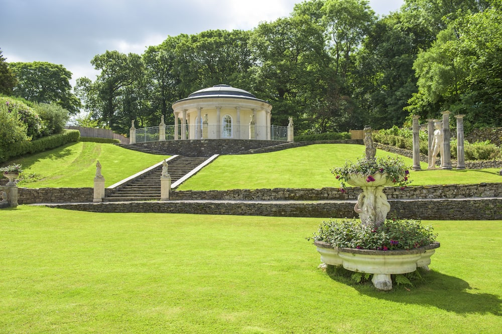 Dobbeltrom – superior, 1 dobbeltseng, utsikt mot hage - Utsikt mot hage