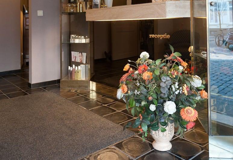 Hotel Biskajer Adults Only, Brugge, Resepsjon