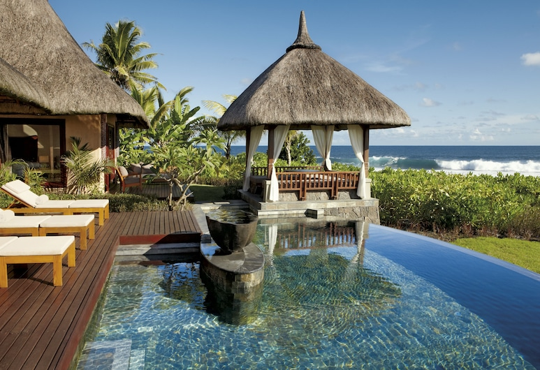 Shanti Maurice Resort & Spa, Chemin Grenier, Ocean View Double Suite Pool Villa, Kamar Tamu