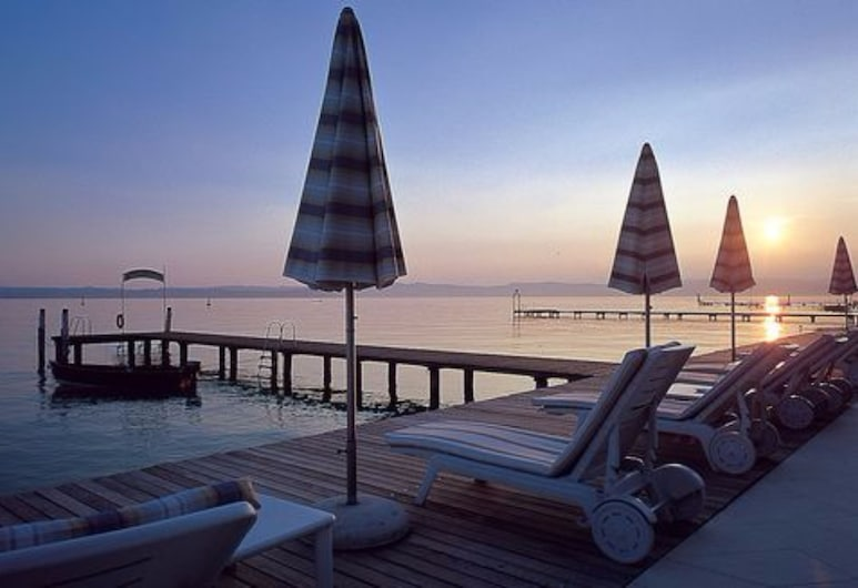 Hotel Continental Thermae & Spa, Sirmione, Terraza