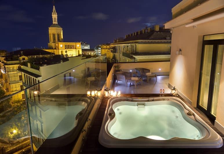 Melia Genova, Genova, Presidentiële suite, terras, Balkon