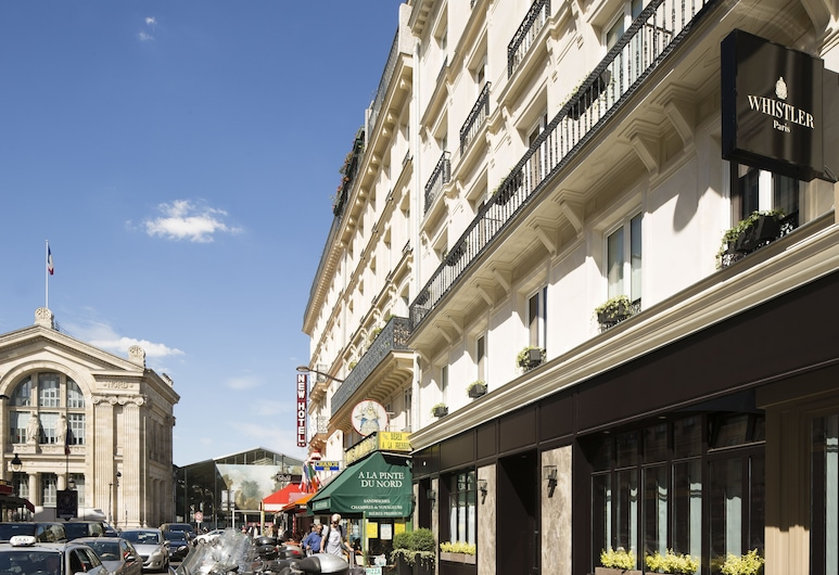 Hotel Whistler, Paris, Hotel Front