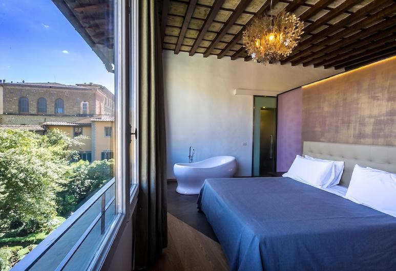 Hotel La Scaletta Florence, Florence, Suite Junior, 1 grand lit, vue jardin, Vue depuis la chambre
