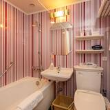 Standard-Zweibettzimmer, Nichtraucher (Special rate for writing review) - Badezimmer